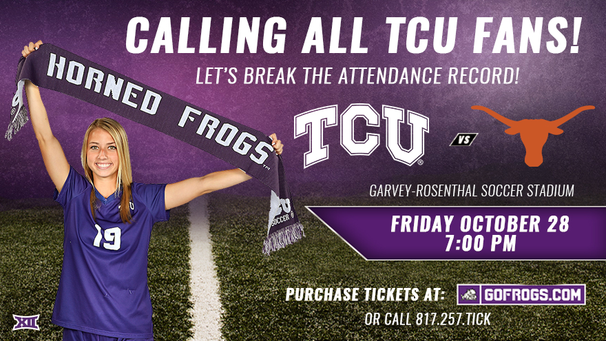 Purchase Tickets at GoFrogs.com