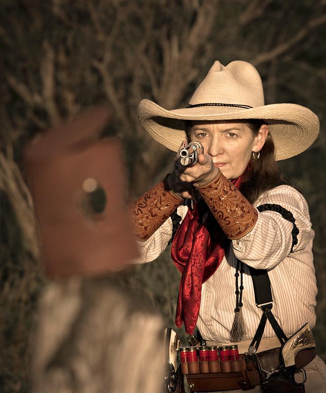 TCU Rifle Coach Karen Monez