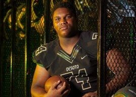 Recruiting 2017: Edward Ingram, Desoto, OL