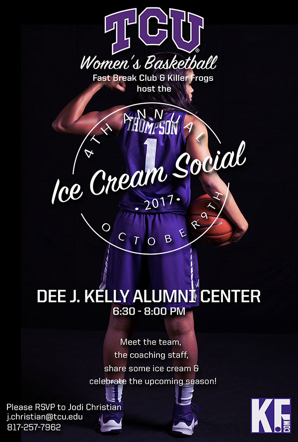 Frogs Hosting Ice Cream Social