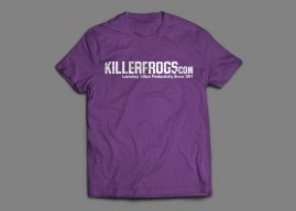 Limited Edition KillerFrogs Shirts Now Available!